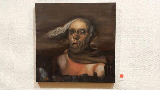 """""""Old man"""" 2014. #artbybitta"""