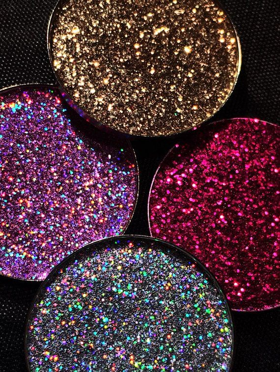 Super Sparkly Multi Tonal Pressed Glitter Eyeshadow by PrimaMakeup