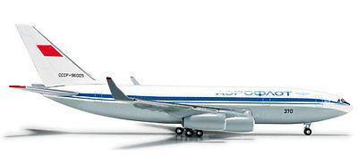 Vintage Manufacture 2650: Herpa 524223 Aeroflot Ilyushin Il-96-300 1:500 Scale Mint Reg# Cccp-96005 -> BUY IT NOW ONLY: $42.99 on eBay!