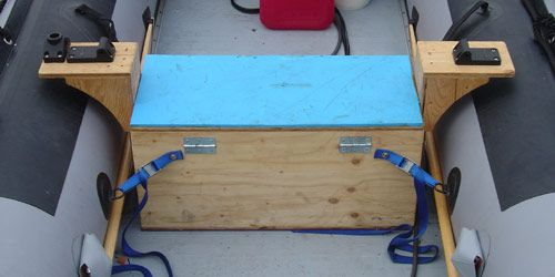 Inflatable Boat Seats: Check Out My Custom Boat Bench Seat