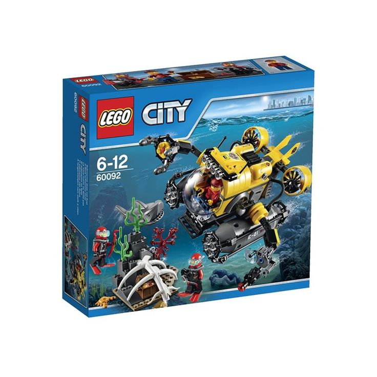deep Sea Submarine lego City 60092 $35 Kmart