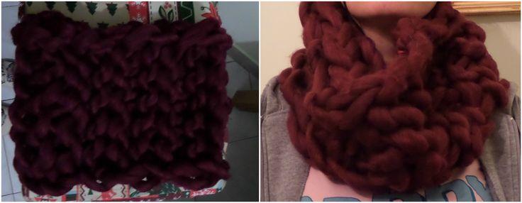 sciarpa fatta a mano