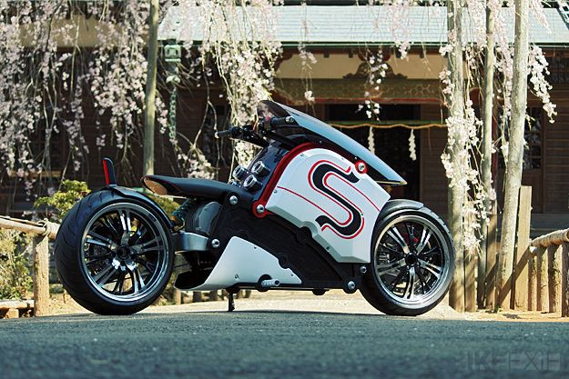 The very last shoot of the unusual zecOO electric motorcycle prototype, exclusive to Bike EXIF. Straight after this, the bike was torn down for pre-production tooling.