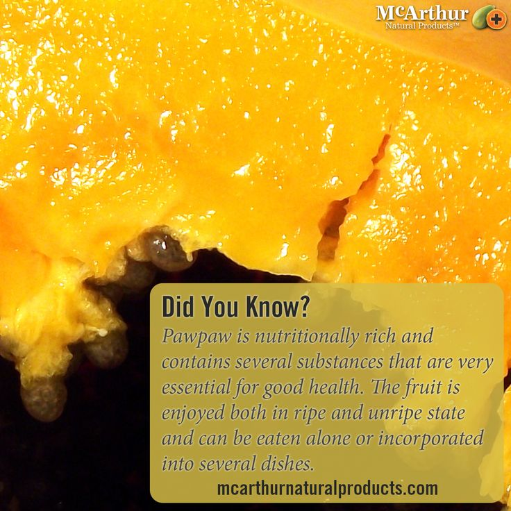 Did You Know? Pawpaw is nutritionally rich and contains several substances that are very essential for good health. The fruit is enjoyed both in ripe and unripe state and can be eaten alone or incorporated into several dishes.   Find out more about the health benefits of Pawpaw here: http://mcarthurnaturalproducts.com/about-pawpaw-sub/#pawpaw1  #mnp #mcarthurnaturalproducts #pawpaw #papaya #papain #papaw #australiangrown #natural