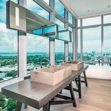 Salle de bain écrin de verre - Salle de bain - Inspirations - Décoration et rénovation - Pratico Pratiques