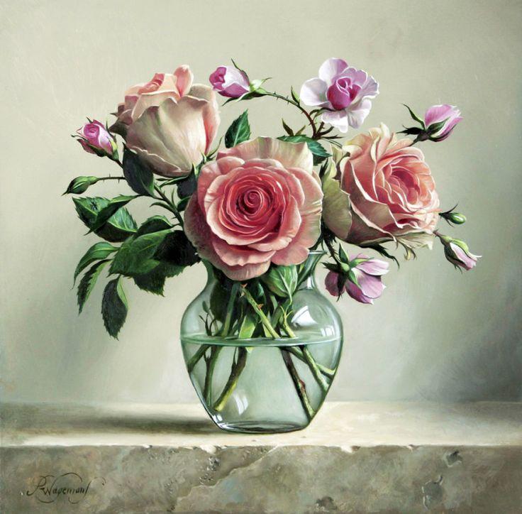Gallery.ru / Фото #21 - Тюльпаны, розы и другие цветы художника Pieter Wagemans - Anneta2012