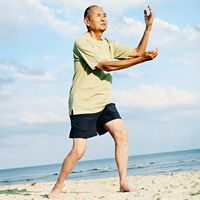 In a new study, researchers suggest Tai Chi as a preferred mode of training for older adults. The mind-body exercise benefits both cardiovascular health and muscle strength.
