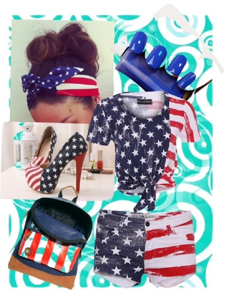 TOP 10 USA Flag inspired outfits