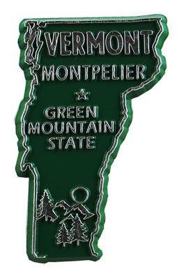 MGI Companies, Inc. - Vermont State Magnet, $1.49 (http://www.internationalgiftitems.com/vermont-state-magnet/)