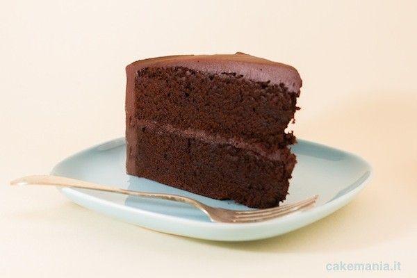 Mud cake di cioccolato fondente