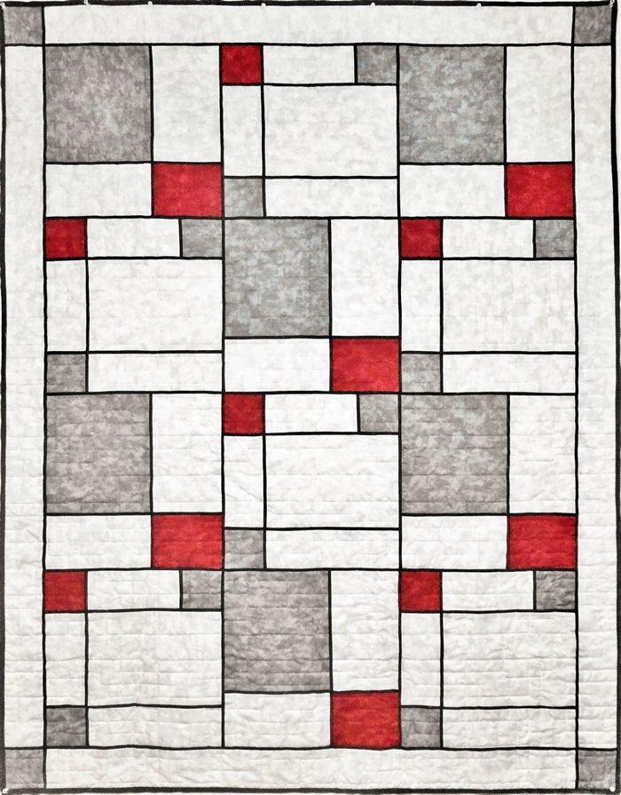 Modern Pop Two Quilt Pattern Quilt Inspiration Pinterest
