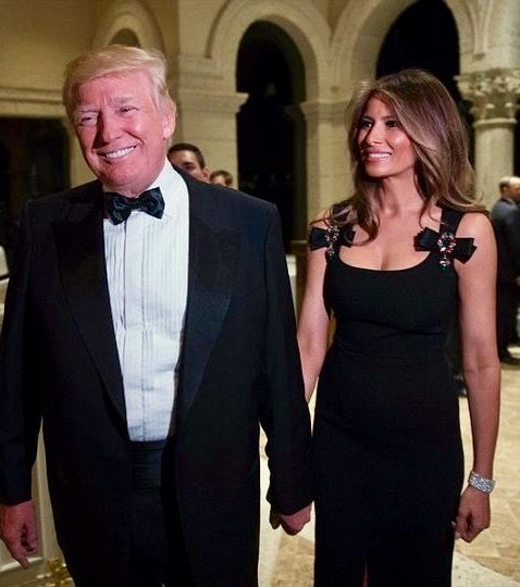 Donald Trump New Years Eve party at the Mar-a-Lago in Florida.