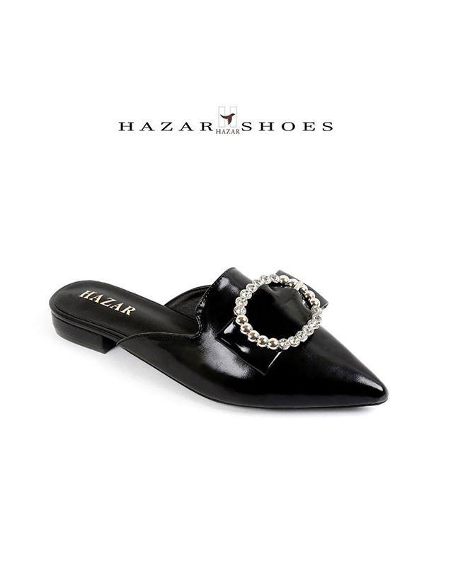 تمتعــوا بصيـف أنيق مع هـزار New Summer Collection 2018 New تشكيلة جـديـدة من موديـلات صيف 2018 Heel Height Flat إرتـفــــاع الكع Mule Shoe Shoes Slippers