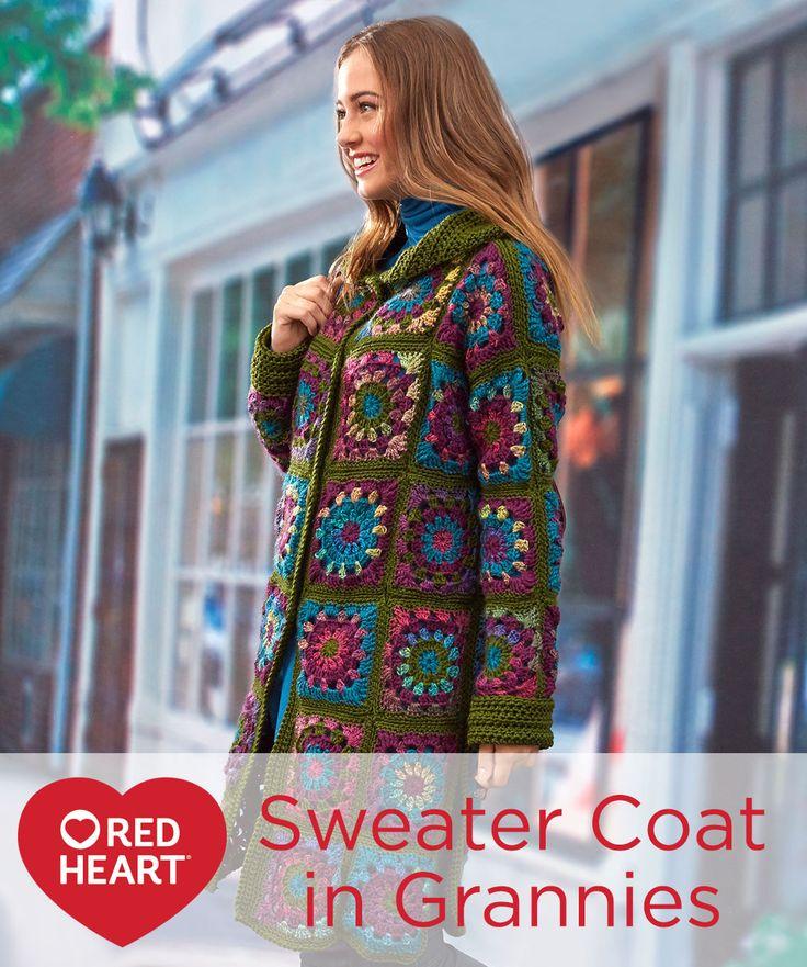 Hermosa Crochet Patrón Suéter Encogimiento De Hombros Festooning ...