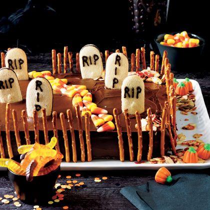 Deserted Graveyard Cake - MyRecipes