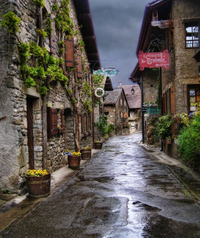 Yvoire, France  Such a Fairytale village.