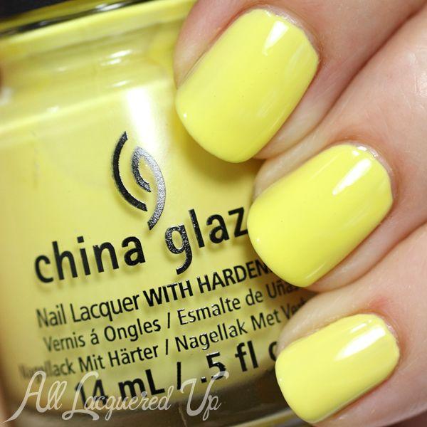 Yellow Nail Polish On: 57 Best Nail Polish I Own Images On Pinterest