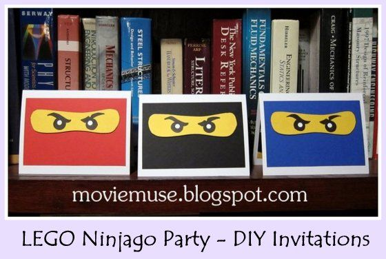 LEGO Ninjago Birthday Party Resource Guide - ideas for DIY invitations, decorations, food, and games