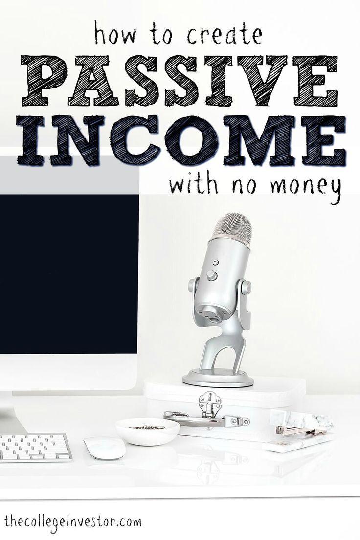 So erstellen Sie passives Einkommen ohne Geld – #E…