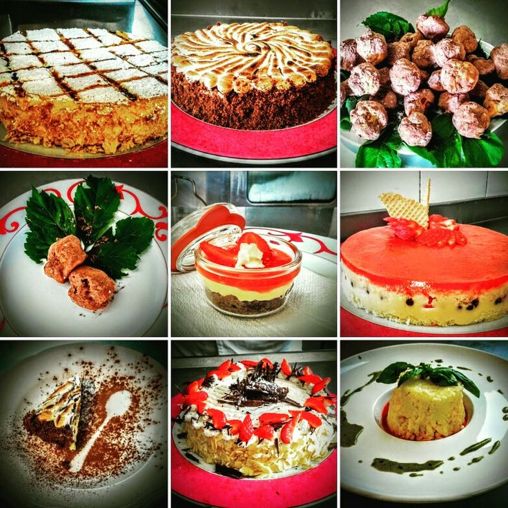 Some of our Desserts / Ristorante Parco Reale!