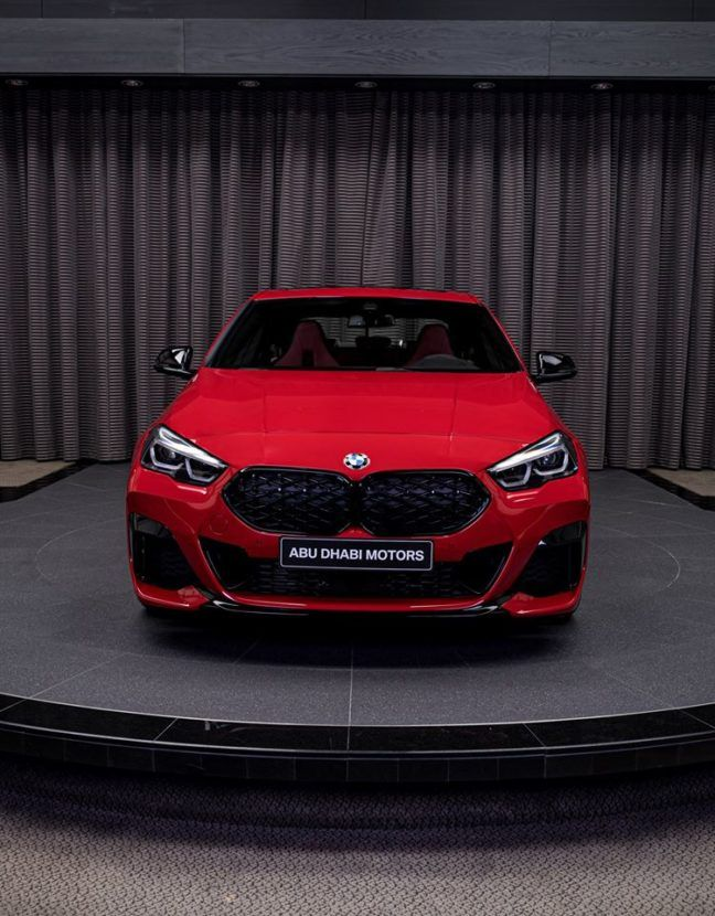 Bmw M235i Xdrive Gran Coupe Showcased In Sensational Melbourne Red Metallic In 2020 Bmw Gran Coupe Coupe