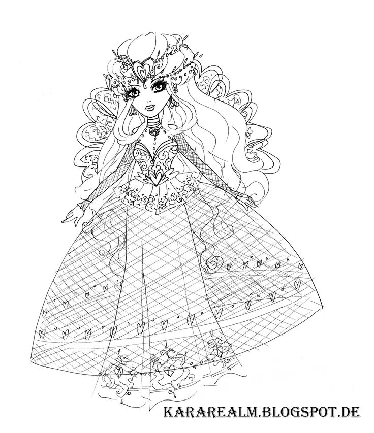 Kara Realm: Ever After High, enchanted new chapter ball, lizzie hearts