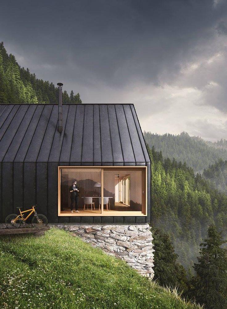 Best 25 weekend house ideas on pinterest porch steel for Weekend cabin plans