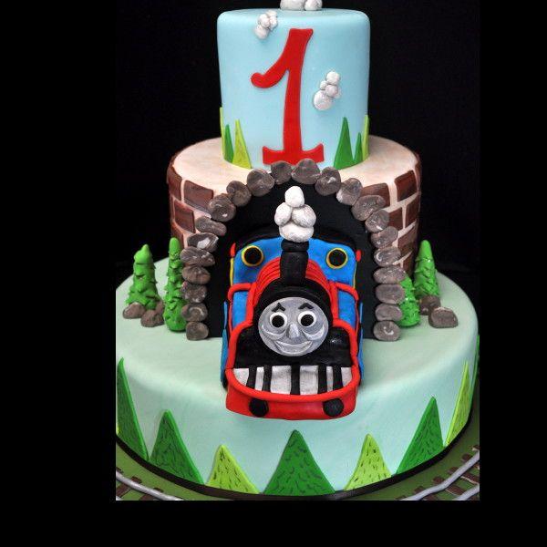 Thomas The Train St Birthday Cake