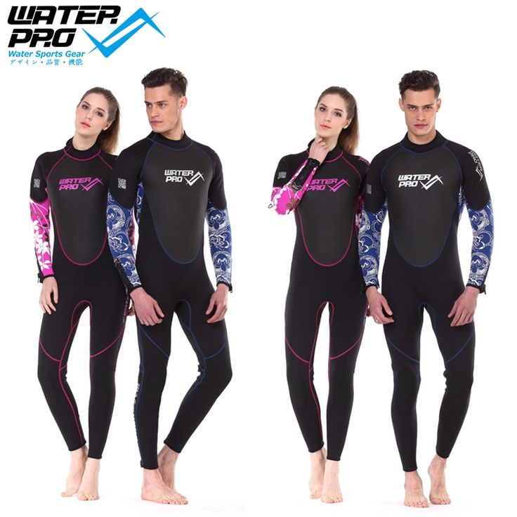 189.91$  Watch now - http://ali5jg.worldwells.pw/go.php?t=1963784709 - Water Pro Color Base 3mm Unisex Scuba Wetsuit Full Suit Water Sports Diving Suit Snorkeling Wear Surfing 189.91$