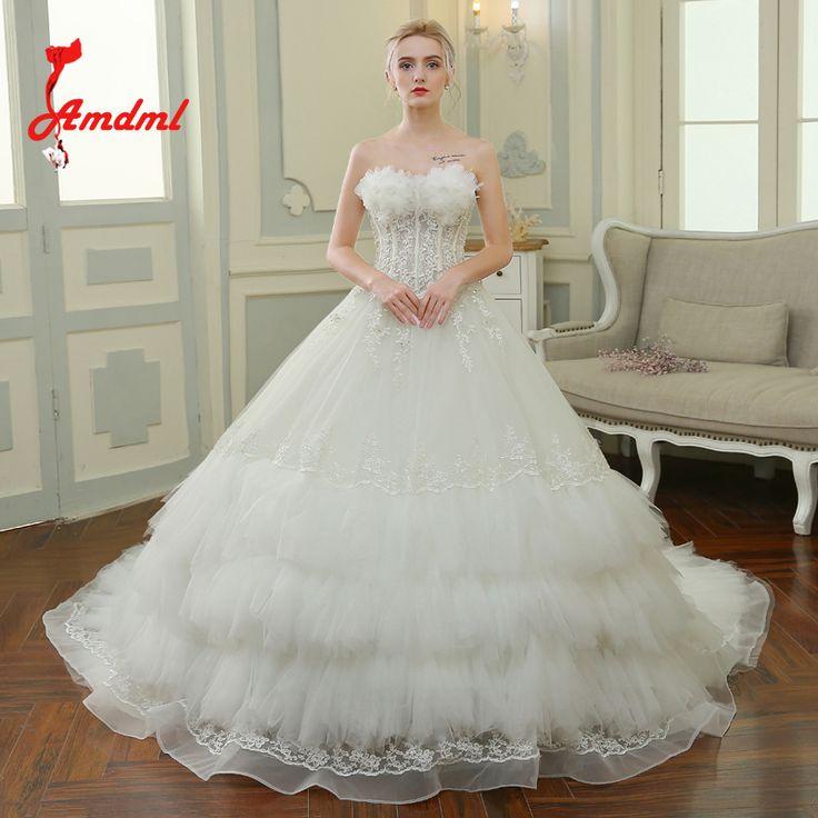 153 besten Wedding Dresses Bilder auf Pinterest   Hochzeitskleider ...