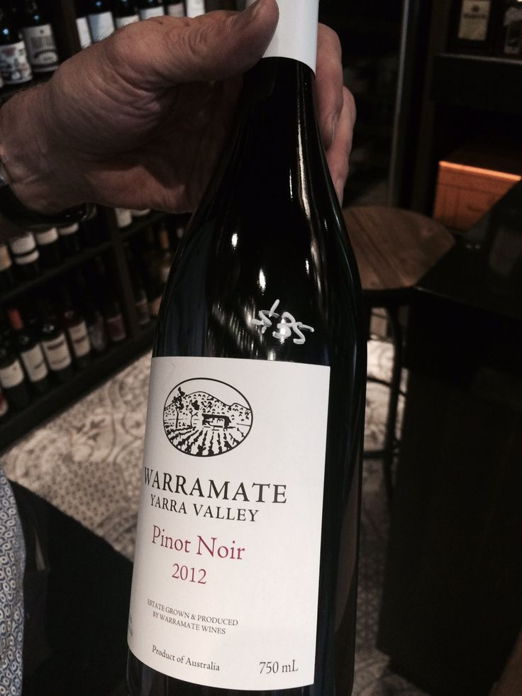 WARRAMATE PINOT NOIR / An intensely-perfumed Pinot Noir, made right here in Australia. Aged for 18 months in a 100% French Oak barrel, the elegant Warramate Wines 2012 Pinot Noir is now available at Parap Fine Foods.
