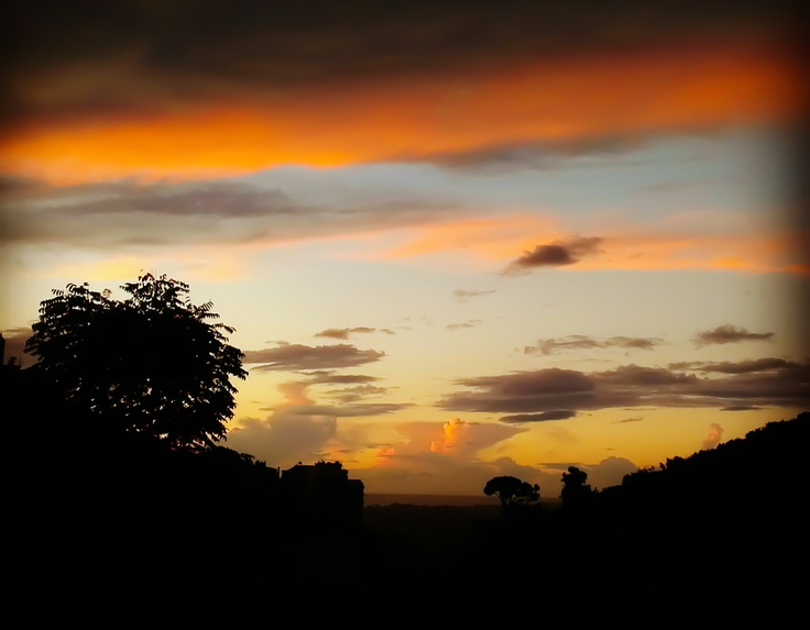 colored horizon