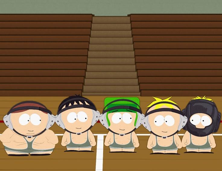 South Park wresting!
