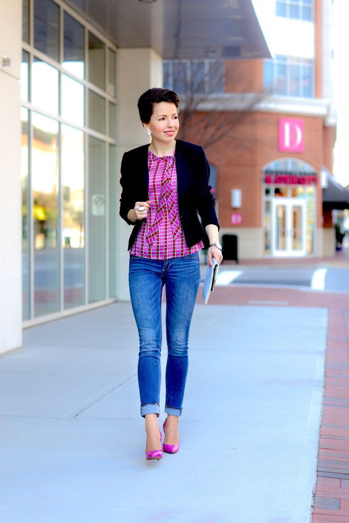 my go to casual friday outfit PLUS the best online shops on a budget - red reticule