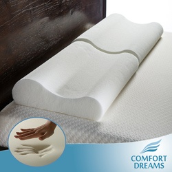 @Overstock - Provide yourself with softness and support with one of these oversized memory foam pillows from Comfort Dreams. Each of these plush pillows is made 4 inches longer than a standard pillow for added comfort for back and side sleepers.http://www.overstock.com/Bedding-Bath/Comfort-Dreams-Oversized-Memory-Foam-Contour-Pillows-Set-of-2/1519595/product.html?CID=214117 $36.99