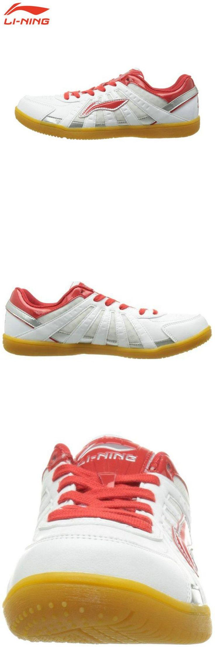 [Visit to Buy] Li Ning Original Brand Men men Table tennis shoes room Training Shoes White Breathable Sneakers ASNH009 #Advertisement