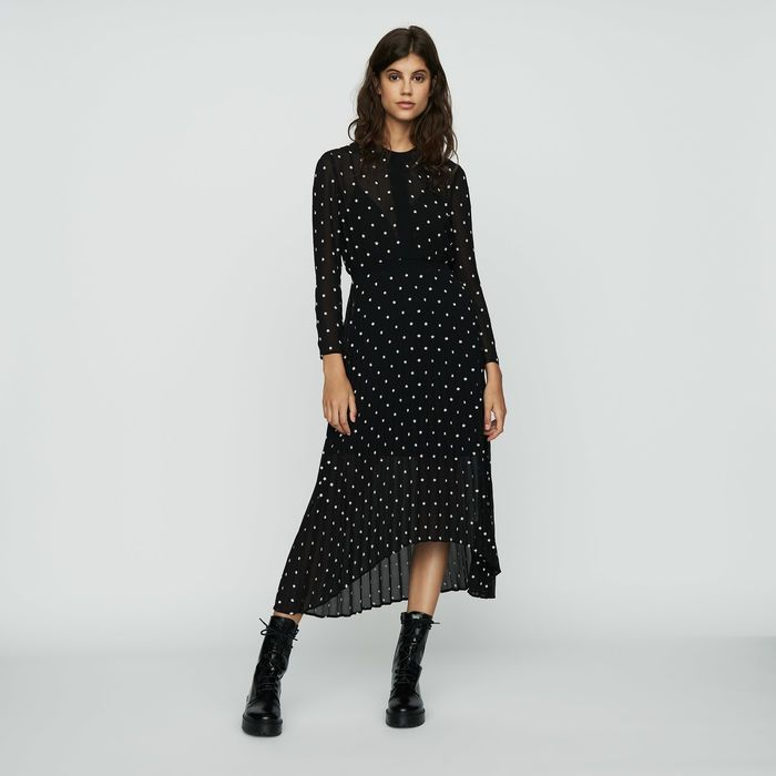 b1b08368c80 RIVOLI Pleated embroidered dress in 2019