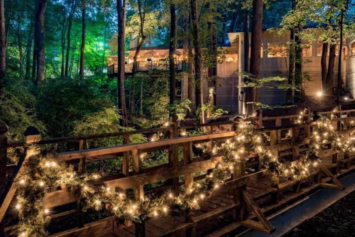The Beautiful Restaurant Tucked Away In A North Carolina Forest Most People Don't Know About