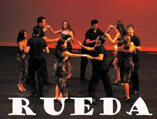 Rueda de Casino dance lessons given by Rueda In The Park.  The 4 chapters are Culver City, Griffith Park, Santa Clarita, & Santa Ana.