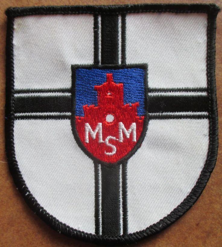 Marineoffiziersschule Mürwick Patch Abzeichen Marine Navy