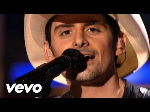 Brad Paisley - Ticks (Live) - YouTube