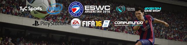 Jugá la ESWC Argentina este fin de semana en #ArGameShow y viajá a Francia   Este fin de semana en Argentina Game Show se jugará la ESWC Argentina y vos podés ser parte de las clasificaciones.  Para eso tenés que venir el sábado entre las 10:00 y las 15:00 HS directamente a cualquiera de las arenas de torneo FIFA 16 que estarán en el stand de PlayStation o en el de Compumundo para luchar por la clasificación diaria sin registro previo Sí! Sólo tenés que venir a #ArGameShow y luchar por…
