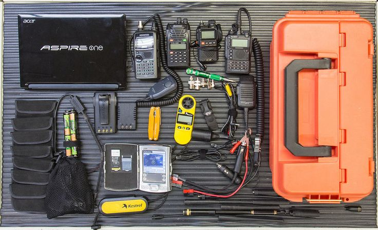 "Rusk County Amateur Radio Club: Prepare with Amateur Radio Emergency ""Go Kit"""