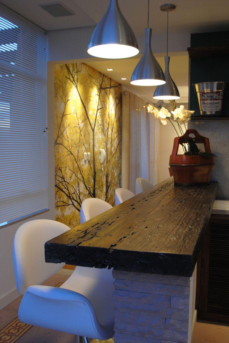 203 best ideas about Cozinha Rústica on Pinterest  Madeira, Wood cabinets an # Bancada De Madeira Na Cozinha