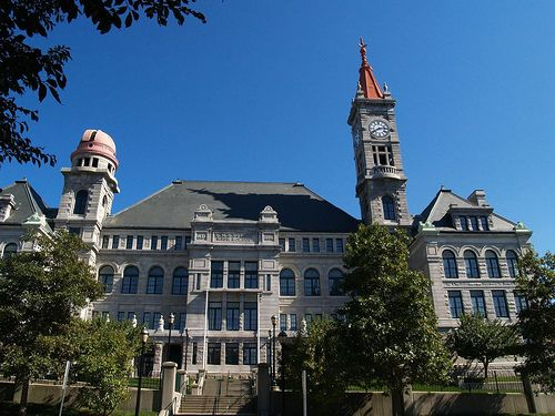 B.M.C. Durfee High School in Fall River, Massachusetts.