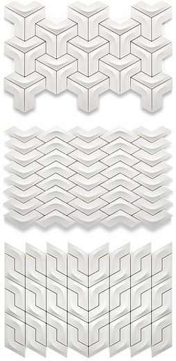 Versatile Arc Ceramic Wall Tile, Winner of red dot award