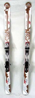 """Head i.Peak 78 Pro 177cm Skis with PR12 Bindings - Head i.Peak 78 Pro  is a carving ski, but it is much more. Head's flow ride construction in the fore body of the ski allows this fully cambered ski to feel like a rockered ski in broken snow, yet it still hooks up like the race bred carving machine that it is. Coupled with Head's """"Intelligence"""" technology which stiffens the ski torsionally the harder the ski is pushed. 78 Pro has amazing grip on hard snow,"""