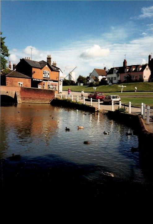 Finchingfield, North Essex, England.