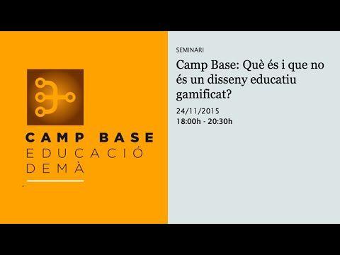 Camp Base: Què és i què no és un disseny educatiu gamificat? (retransmissió en directe) | Fundacio Jaume Bofill