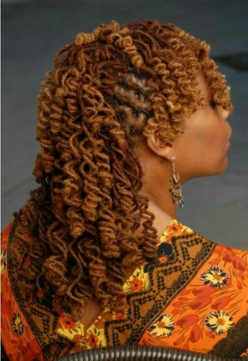 Tight Curls Locs Hairstyles Hair Styles Dreadlock Styles